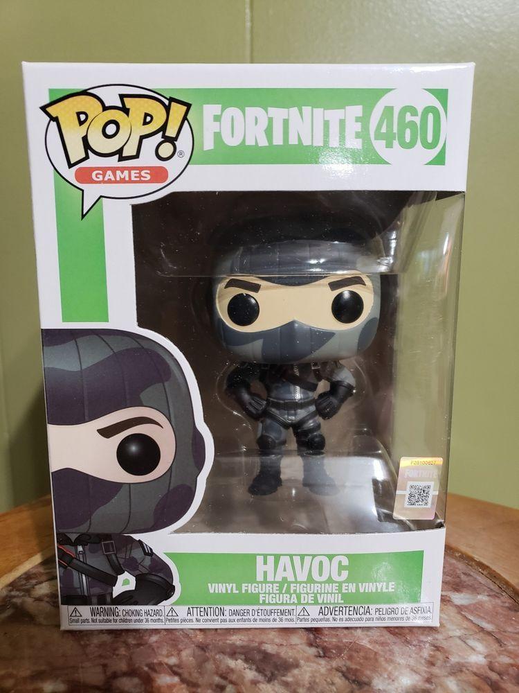 Funko Pop Havoc Fortnite Season 2 Epic Games In Stock 460 Fortnite