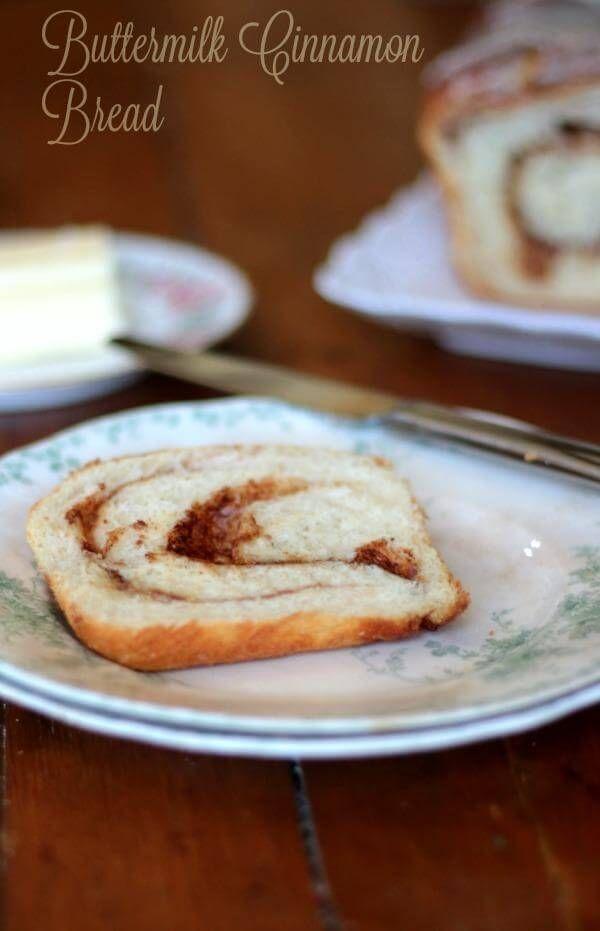 Cinnamon Bread Recipe Plain Or Raisin Recipe Cinnamon Bread Cinnamon Bread Recipe Recipes