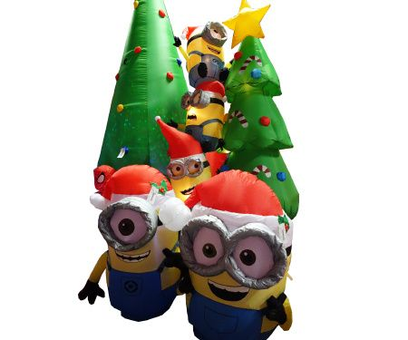 Minions Tree Scene Christmas Inflatable. New for Christmas 2016 ...