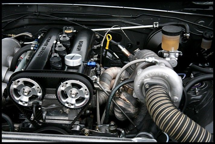 MX5 NB Engine Bay - *TURBO*   Miata   Miata engine, Miata