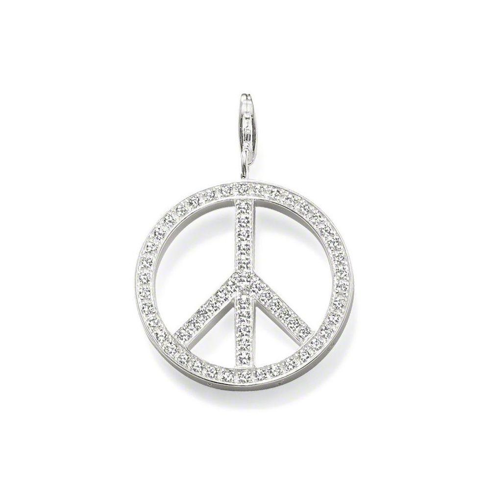 Thomas sabo silver and pave zirconia peace symbol pendant t0134 051 thomas sabo silver and pave zirconia peace symbol pendant t0134 051 14 buycottarizona Gallery