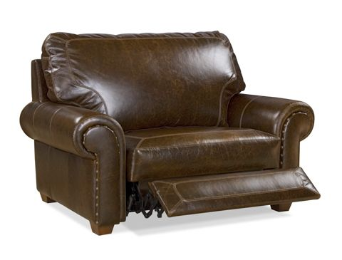 Elite Leather Company Billings Power Chair & 1/2 Recliner ...