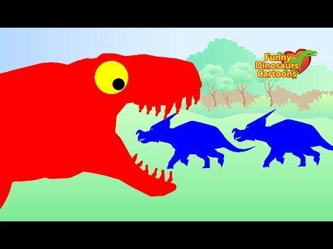 Naucte Barvy S Dinosauri Pro Deti Dinosauri Kreslene Pro Deti