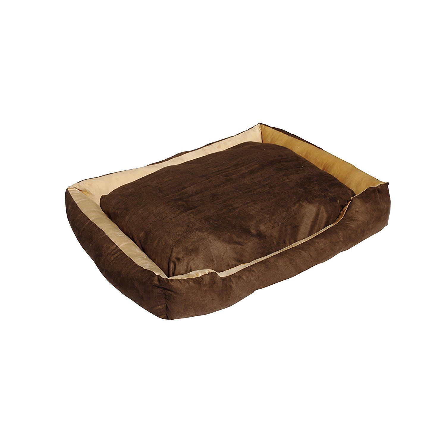 ALEKO LBD1501L Soft Plush Pet Cushion Crate Bed for Dogs