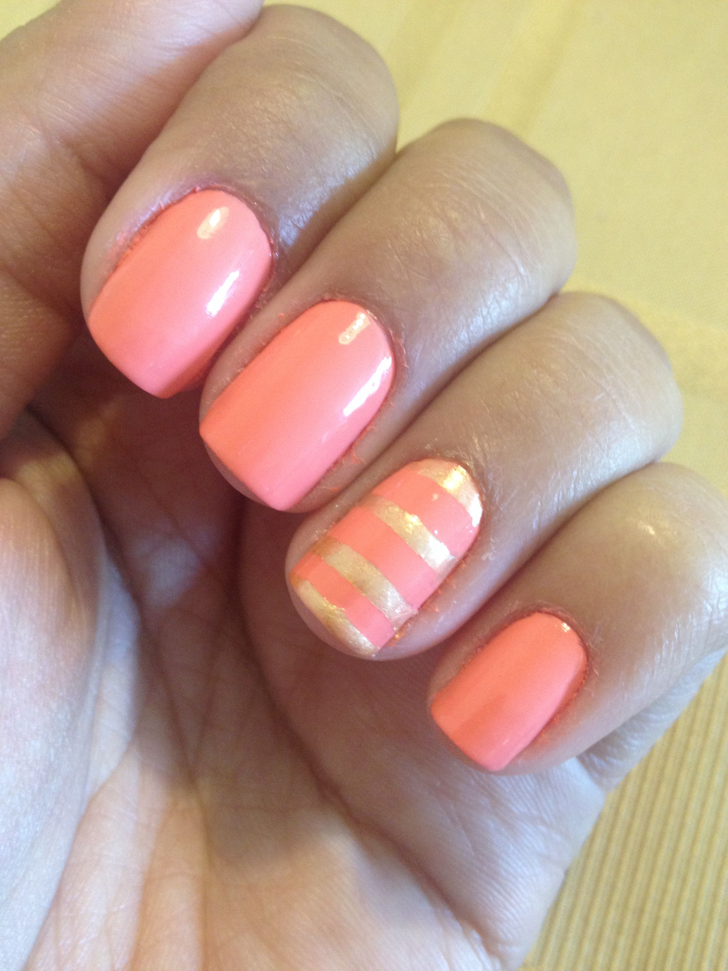 Essie tart deco nail art strips | Nails that I\'ve painted | Pinterest