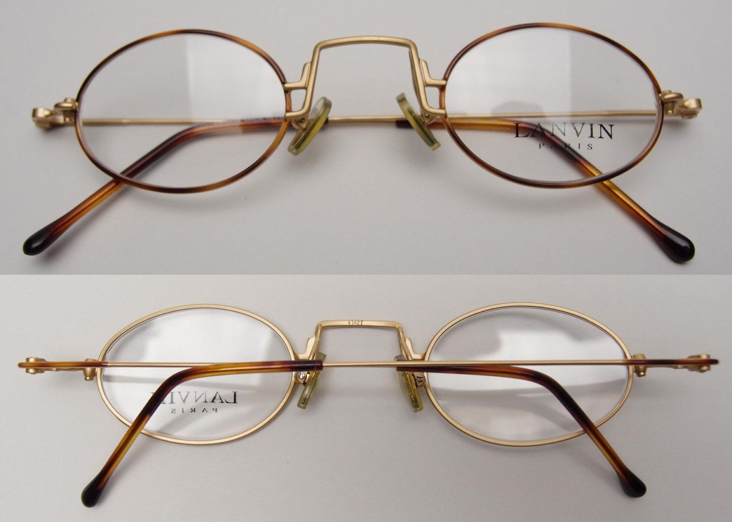ad947059233d This is a NOS(new old stock) pair of vintage Lanvin sunglasses eyeglasses  frames. They are in excellent vintage condition. 100% authentic.