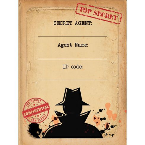 Spy mission secret agent birthday party invitation party spy mission secret agent birthday party invitation filmwisefo Image collections