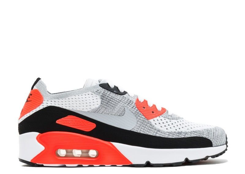 acheter en ligne eeb7c b008b Collection Nike Air Max 90 Ultra 2 0 Flyknit Homme Blanche ...