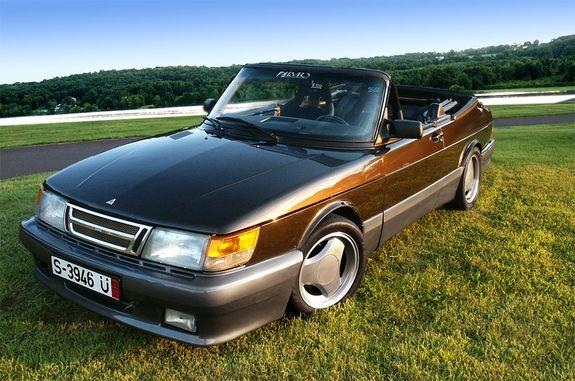 Saab 900 Turbo 1988 Convertible With Airflow Kit Saab 900 Saab Hot Rods Cars Muscle