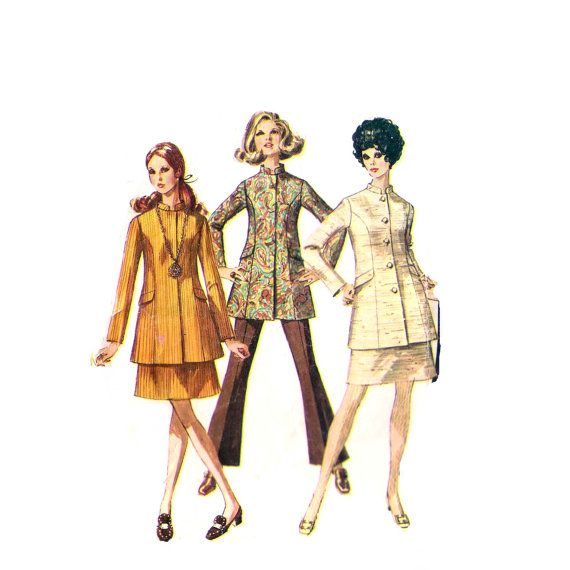 A sewing pattern that resembles the Alabama Chanin jackets.. | AC ...