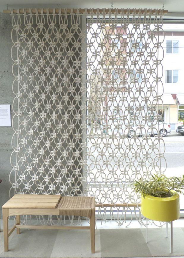 Die besten 25+ Vorhänge aufhängen Ideen auf Pinterest Alte bänke - gardinen muster für wohnzimmer