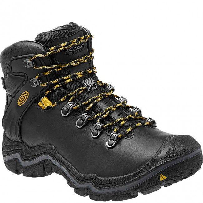 1013277 KEEN Men's Liberty Ridge Hiking Boots - Black www.bootbay.com