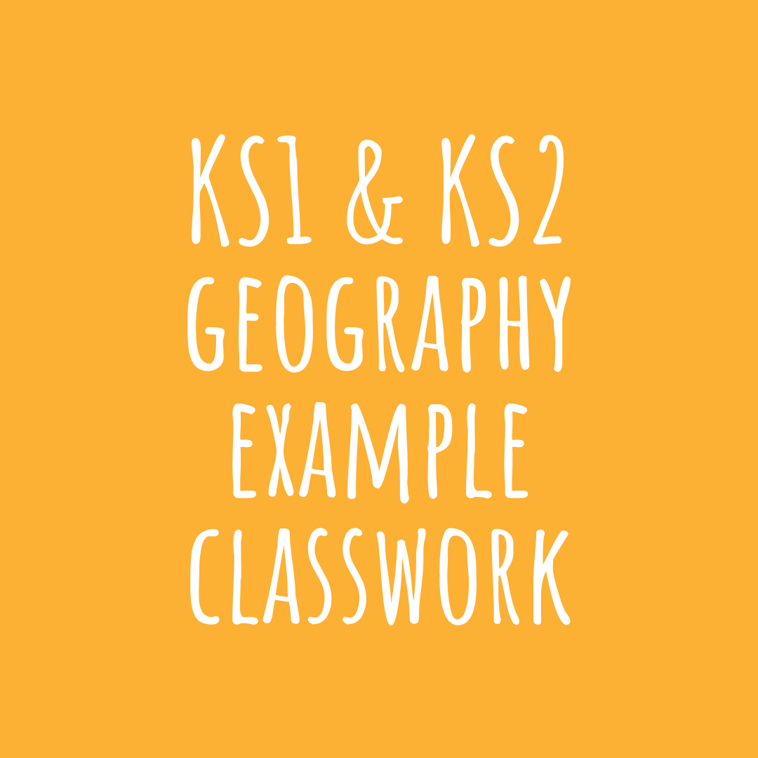 Ks1 Amp Ks2 Geography Example Classwork In