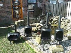 gas bottle log burner log burner garden heater | Rocket Stoves and ...
