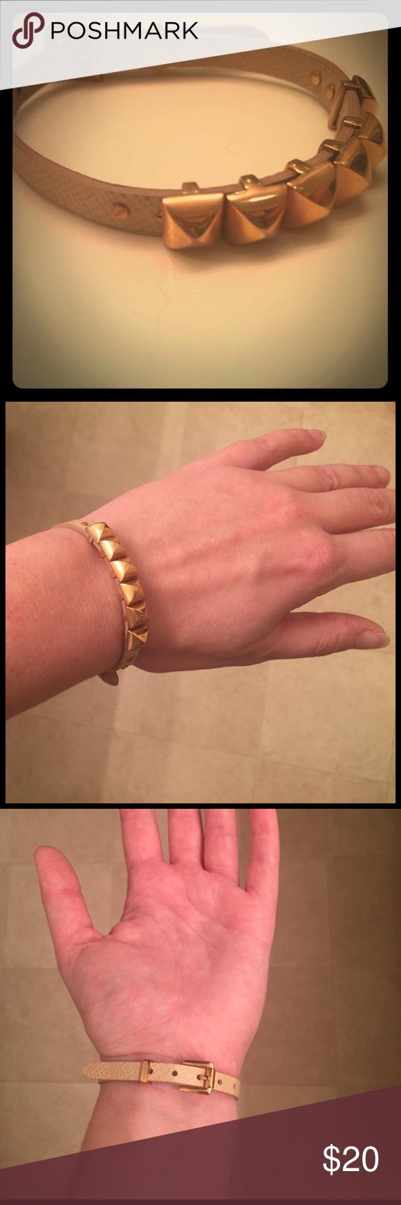 Michael Kors Studded Bracelet Rose Gold MK bracelet. Gently worn. Adjustable. Great accessory to stack or wear with a watch. Michael Kors Jewelry Bracelets