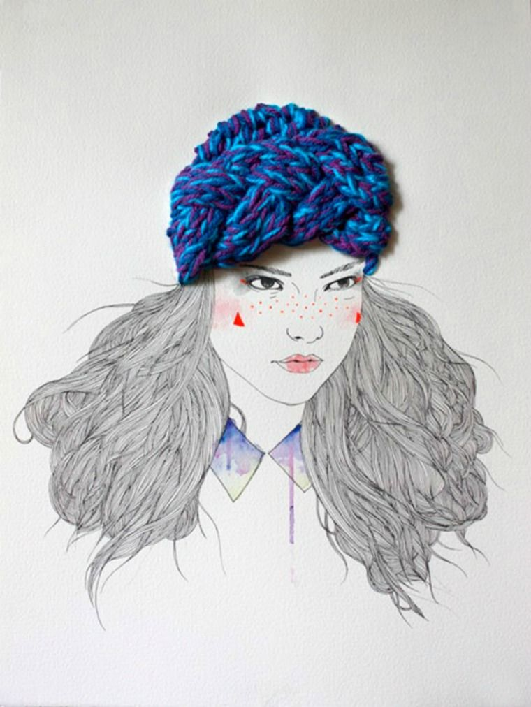 Ilustrações fashionistas de Izziyana Suhaimi
