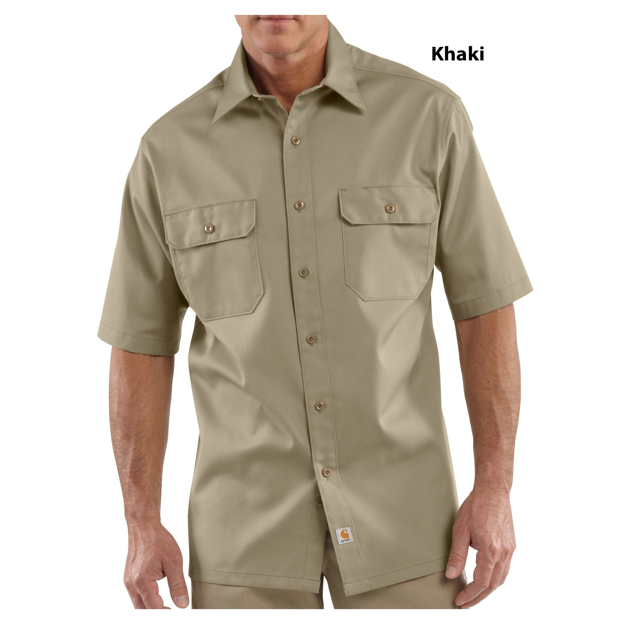 13a79fe9bd5 Carhartt Snap Front Twill Work Shirt – EDGE Engineering and ...