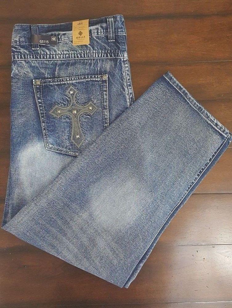 c773f137d GS115 Melrose Slim Fit Premium Denim Men's Jeans Size 48 New With Tags # GS115 #SlimFit