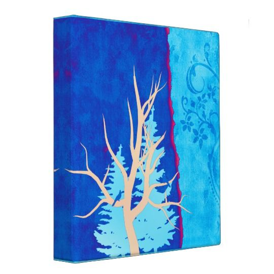 In A Tree Art 3 Ring Binder