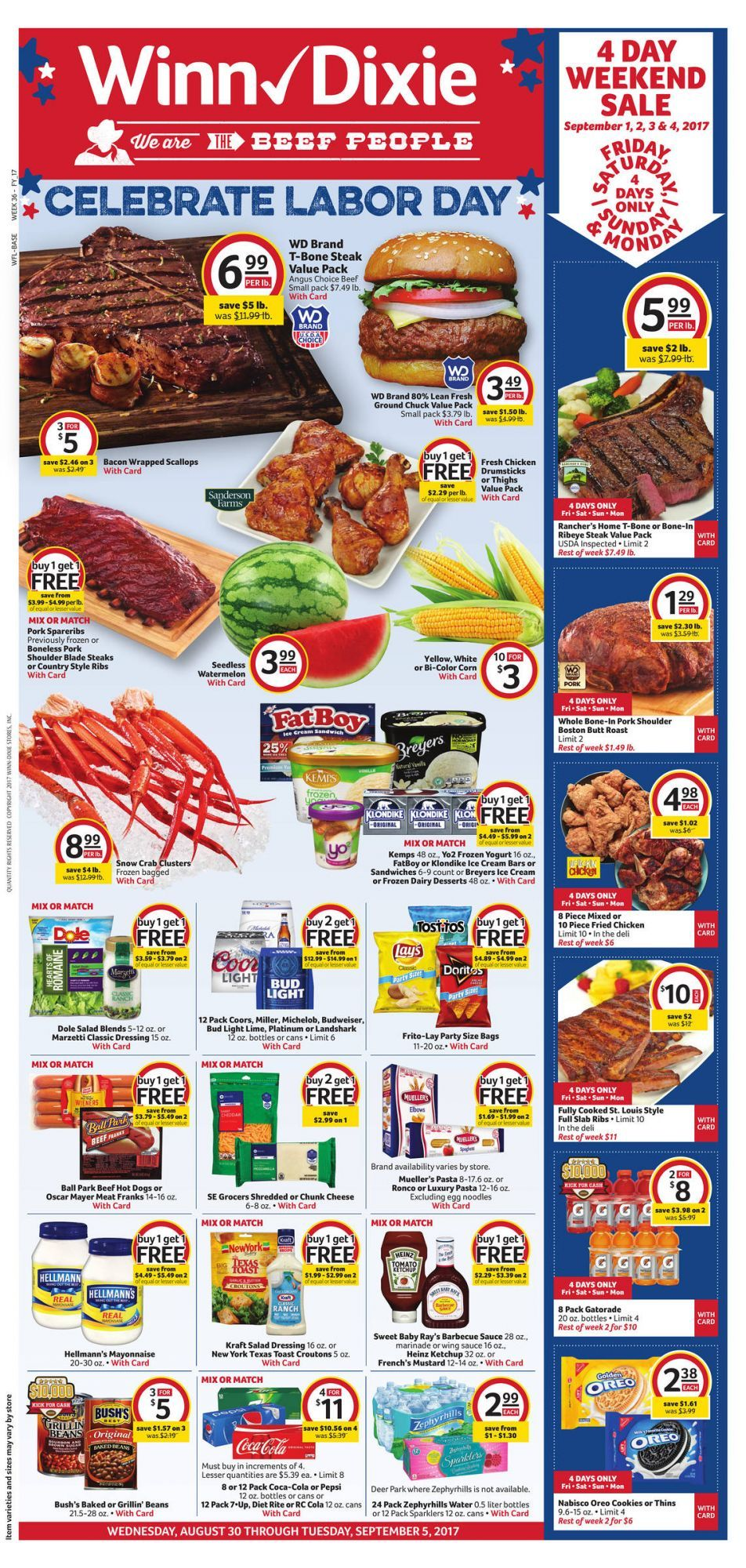 WinnDixie Weekly Ad August 30 September 5 US grocery savings