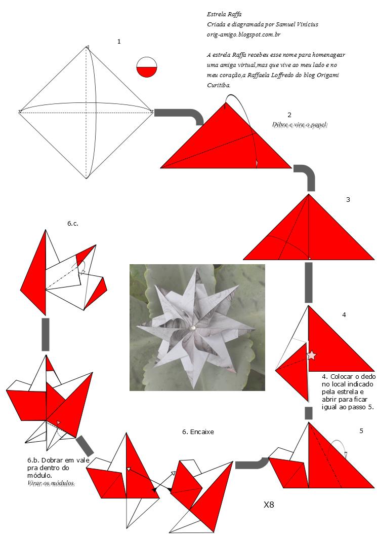 origamigo diagrama origami sterne sterne basteln und origami anleitungen