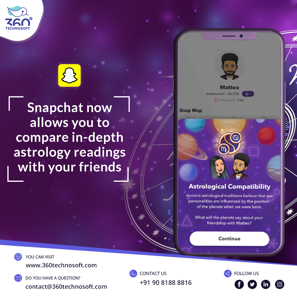 Snapchat Astrological Compatibility In 2020 Mobile App Development Companies Mobile App Development Mobile App