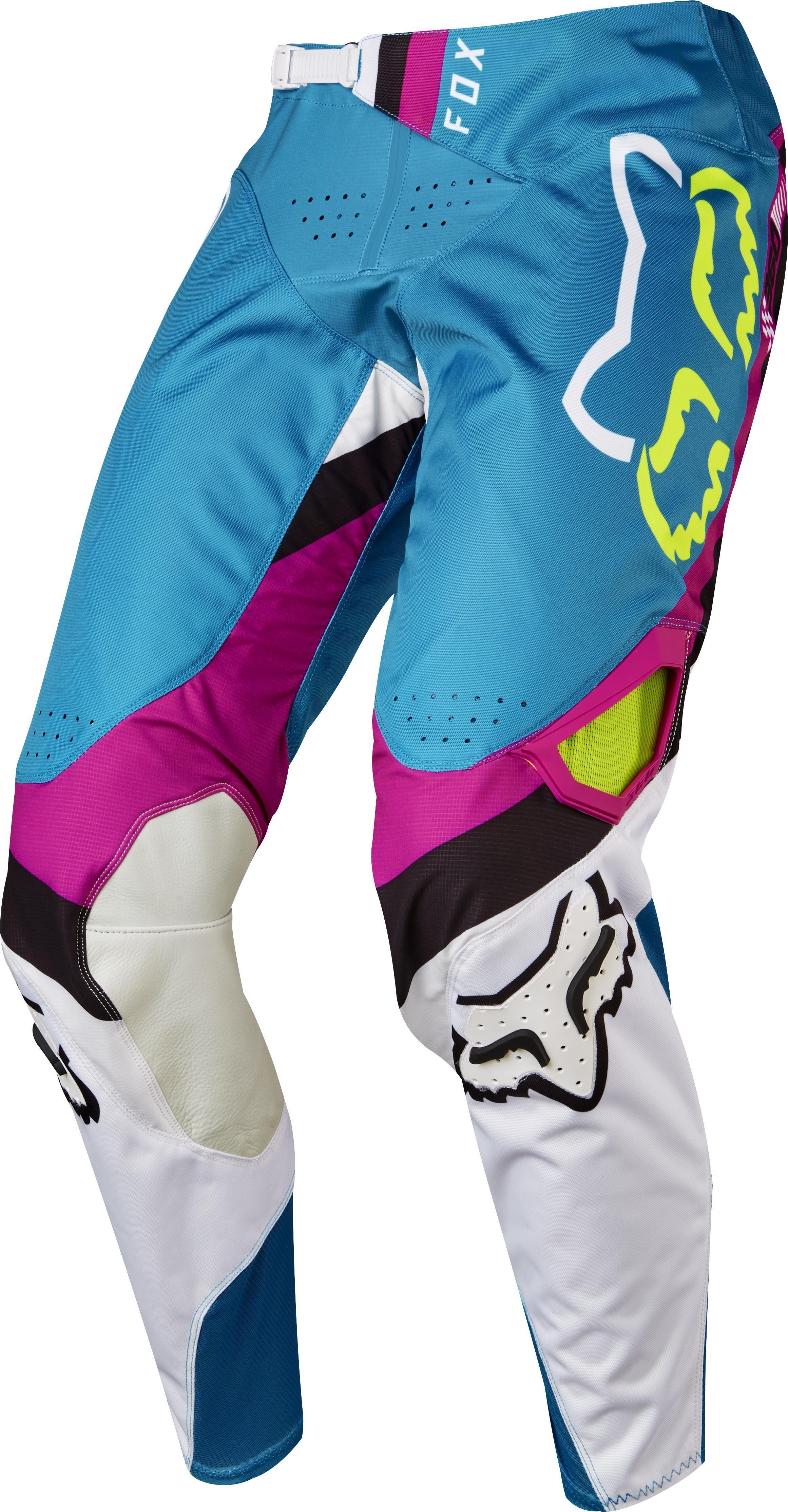 Fox 360 Rohr Pants Powersport Superstore Motocross Pants Blue White And Black Dirt Bike Gear