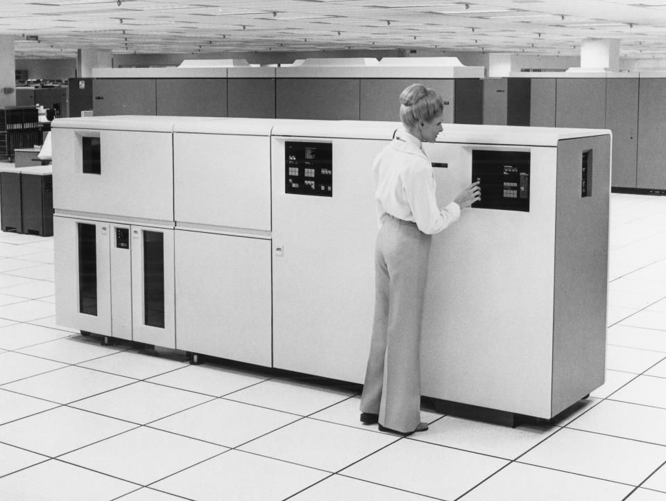 From our Archives: The world's first laser printer, the IBM