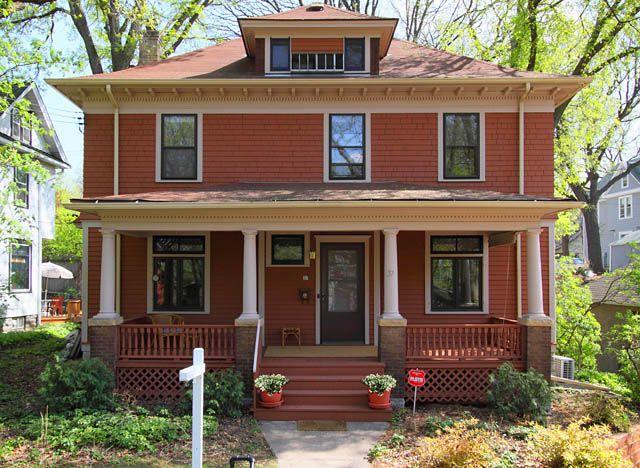 Prairie House Styles Four Square Homes Prairie House