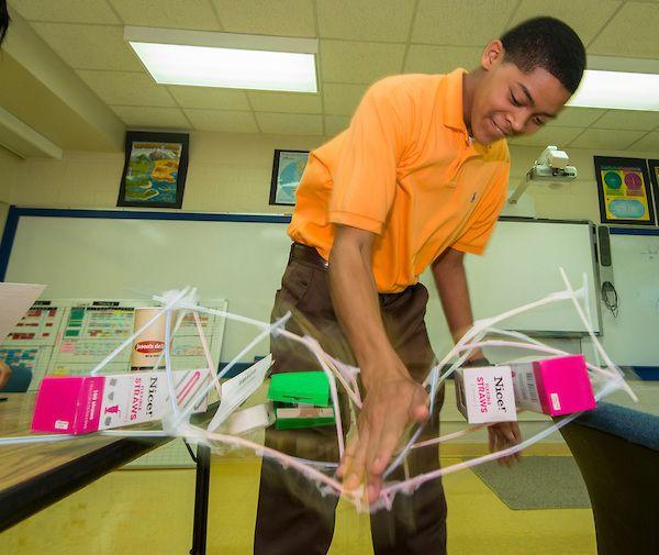 Washington HS Design Internship Kicks Off With Straw