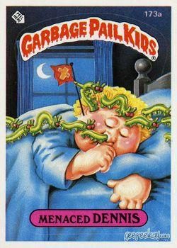 Garbage Pail Kids Original Series 5 Card Collection Garbage Pail Kids Garbage Pail Kids Cards Kids Stickers