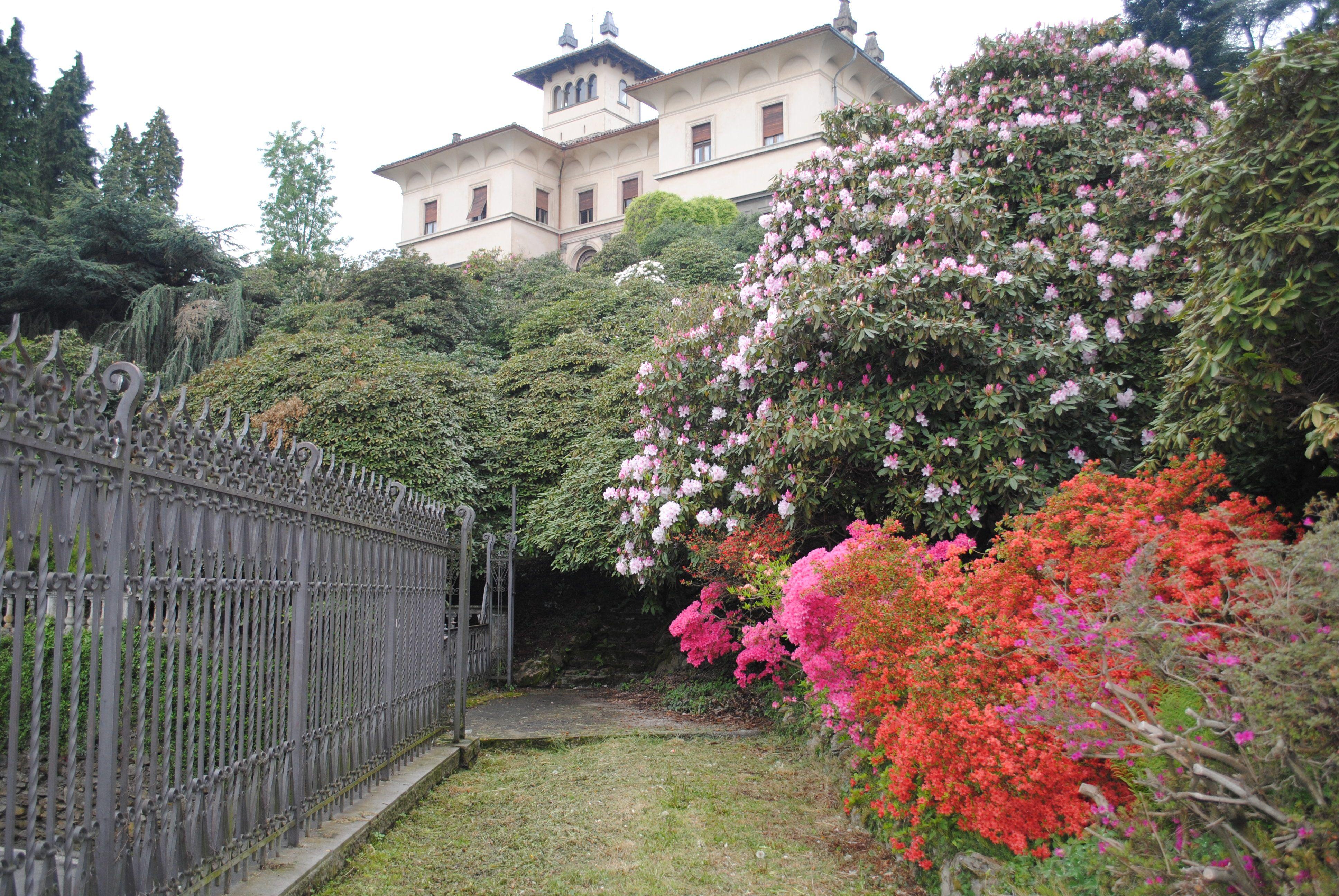 Architetto Di Giardini giardini piemontesi: a pollone le fioriture di villa la