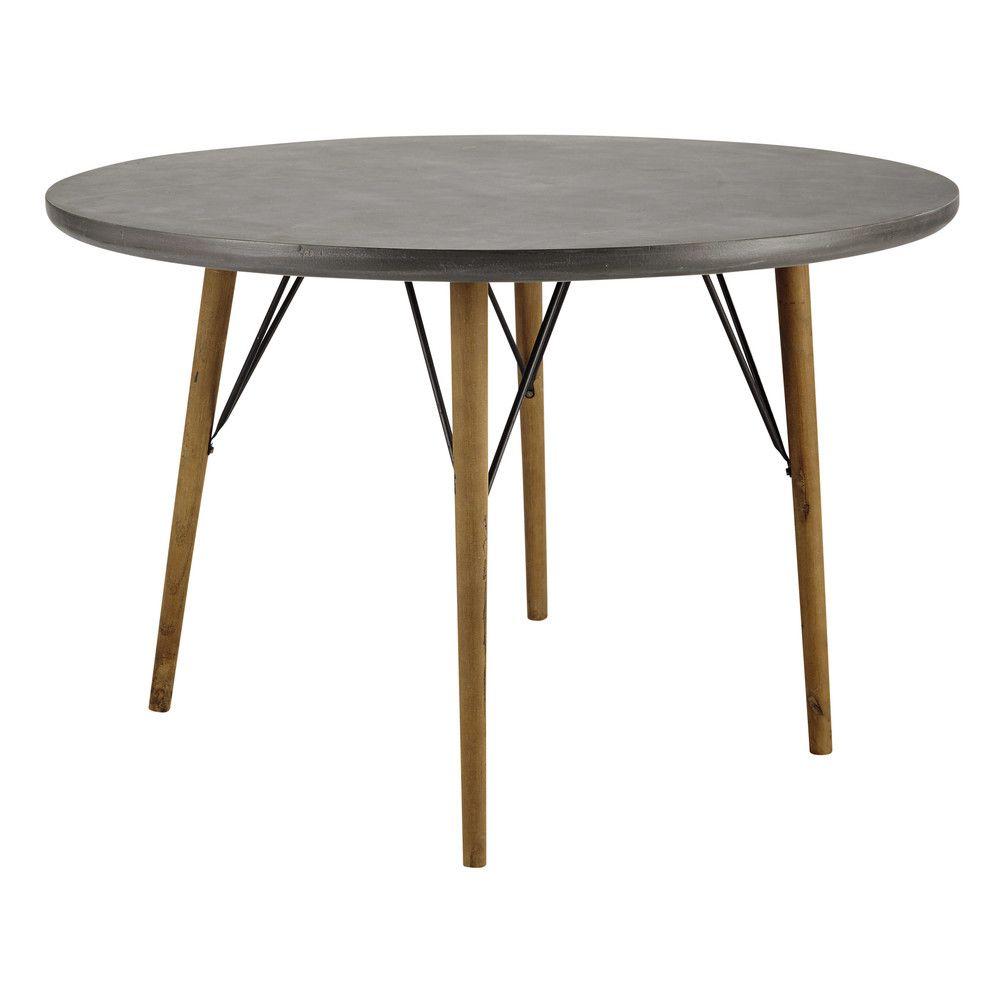 Tavolo rotondo per sala da pranzo 4 persone 120 cm | Runder esstisch ...