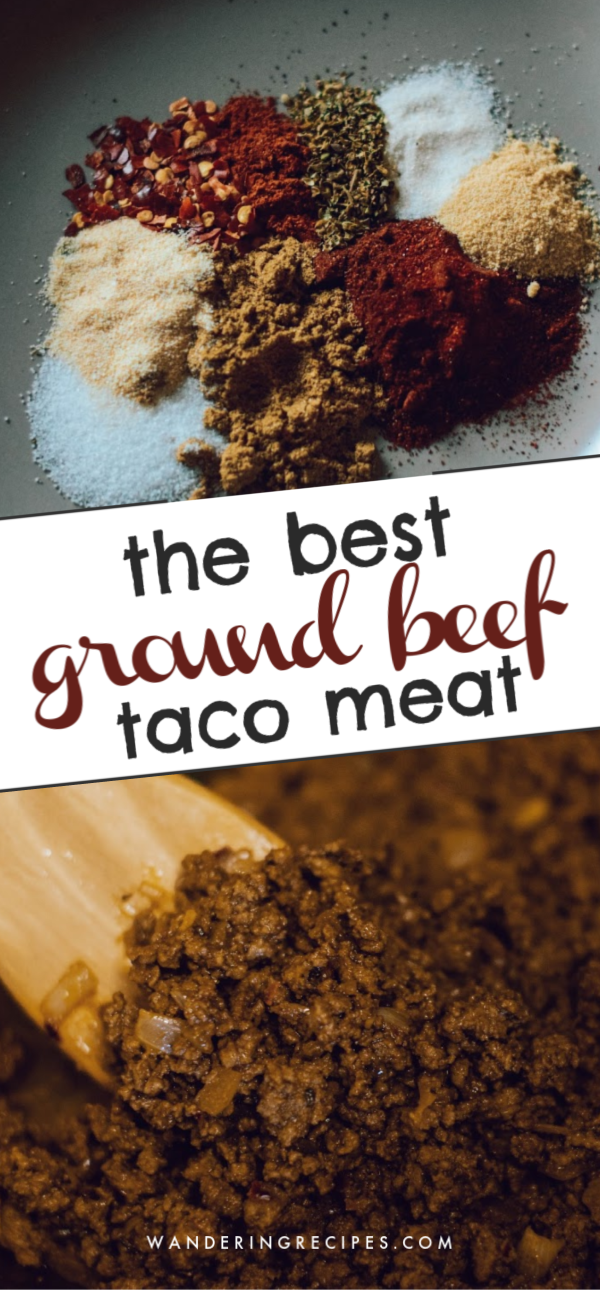 THE BEST GROUND BEEF TACO MEAT