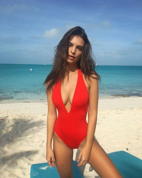 4d2309350271f Celebrities & More Red Swimsuit, Red Bikini, One Piece Swimsuit Red,  Plunging One