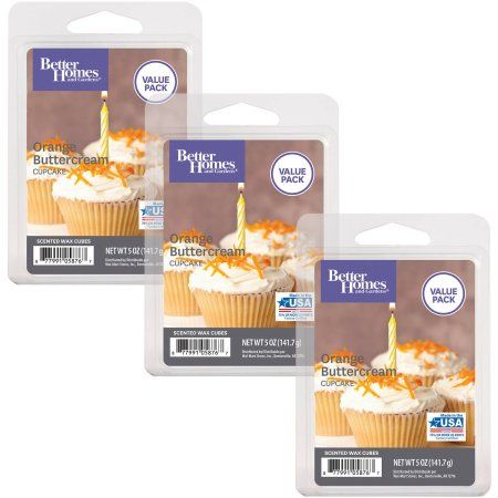 e571b3474308714adda4269d35c1a029 - Better Homes And Gardens Orange Buttercream Cupcake Wax Cubes