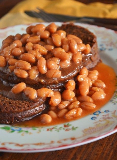Food Brown Bread Baked Beans