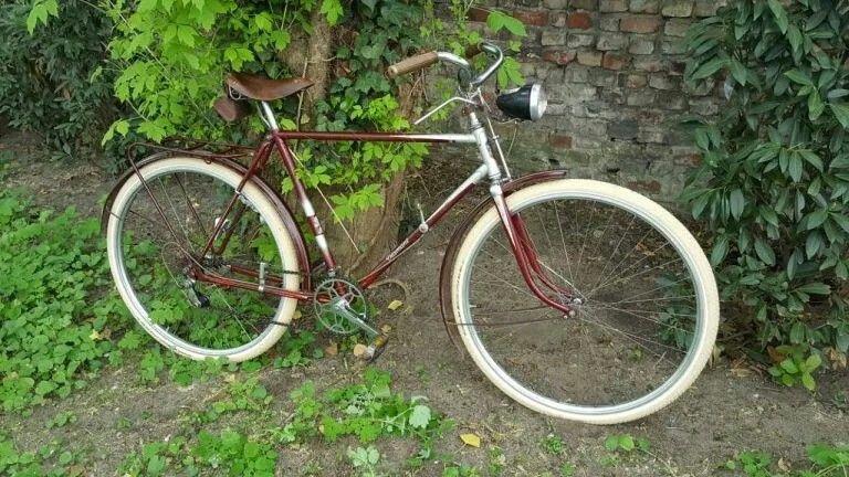 Diamant Fahrrad Model 101 Oldtimer Fahrrad Ddr Vintage Fahrrad