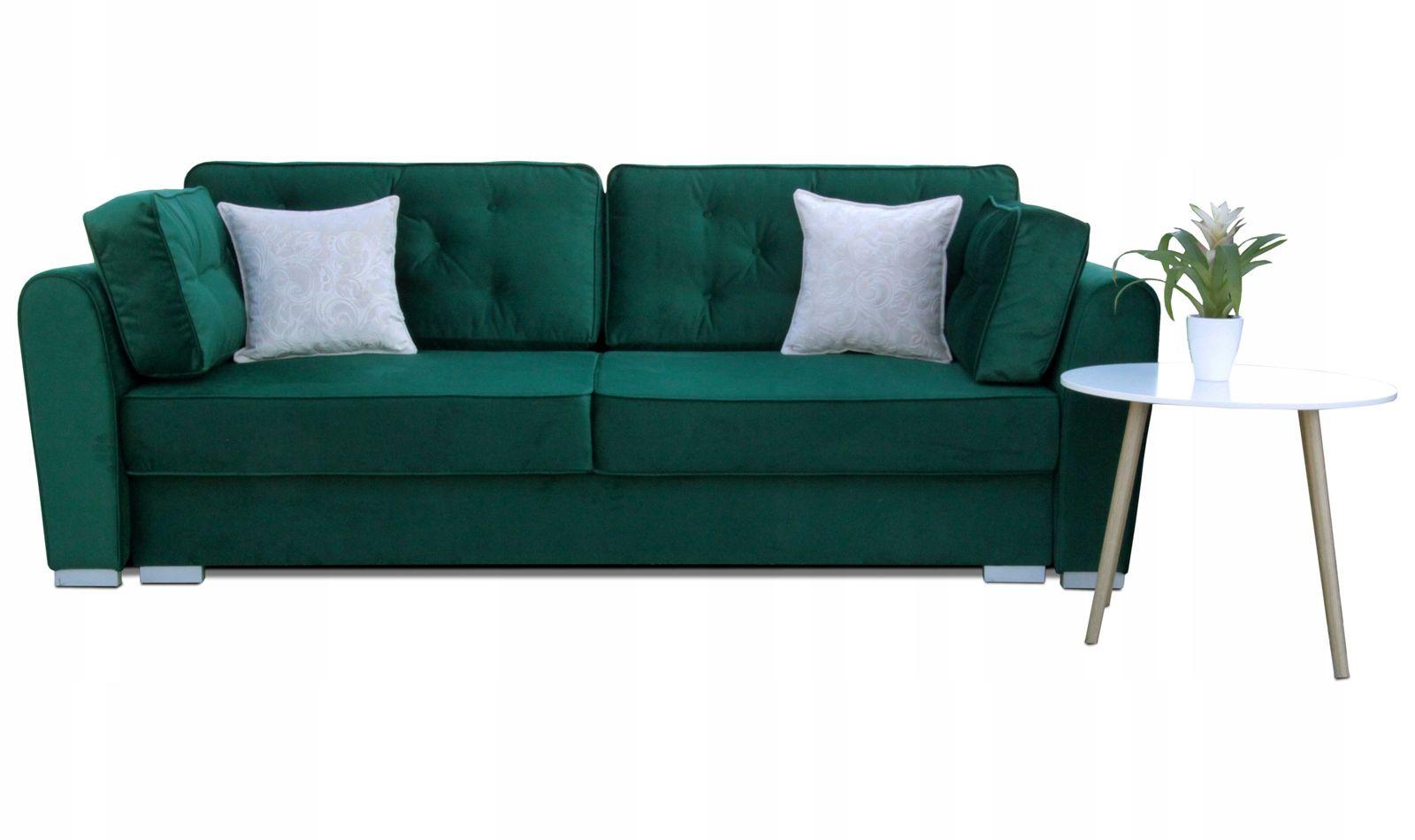 Zielona Kanapa Scilla Sofa Rozkladana Wypoczynek 7615484197 Oficjalne Archiwum Allegro Sofa Furniture Couch