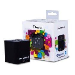 Altavoz Bluetoothportatil negro Tbeatz Tsubehoa