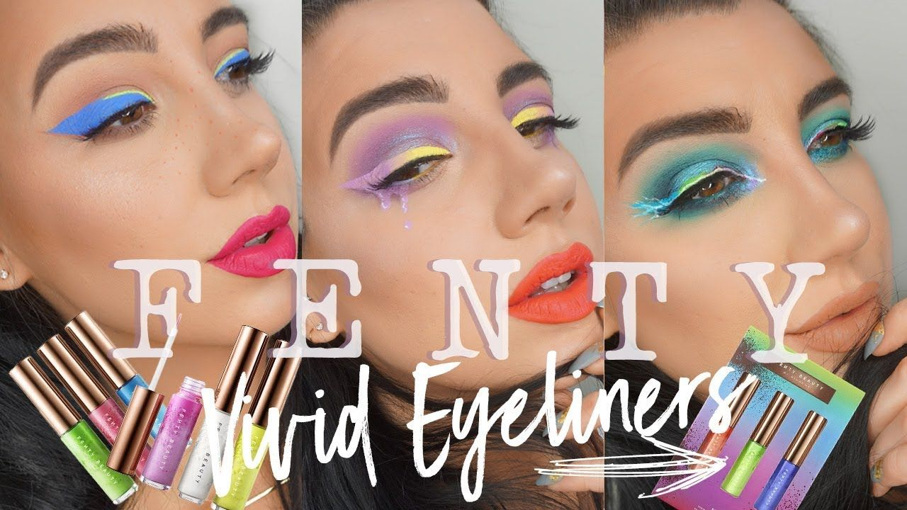 FENTY BEAUTY VIVID EYELINERS l SUMMER 2019 COLLECTION