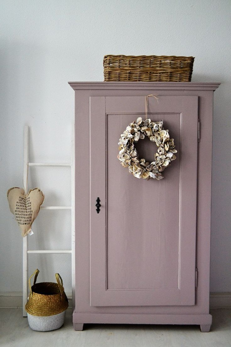 Castle Of The Week Beautiful Vintage Cabinet In The Trend Color