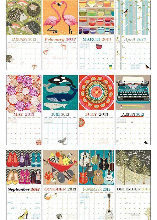 Paper Source Calendar Must Get Calendar Design Cool Calendars