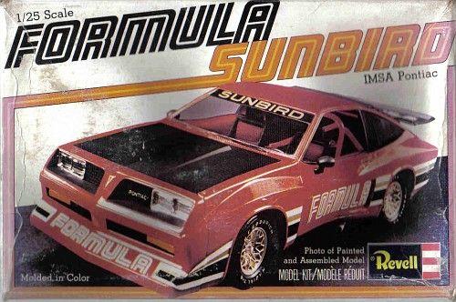 Revell Formula Sunbird IMSA Pontiac box art   Model kits-box