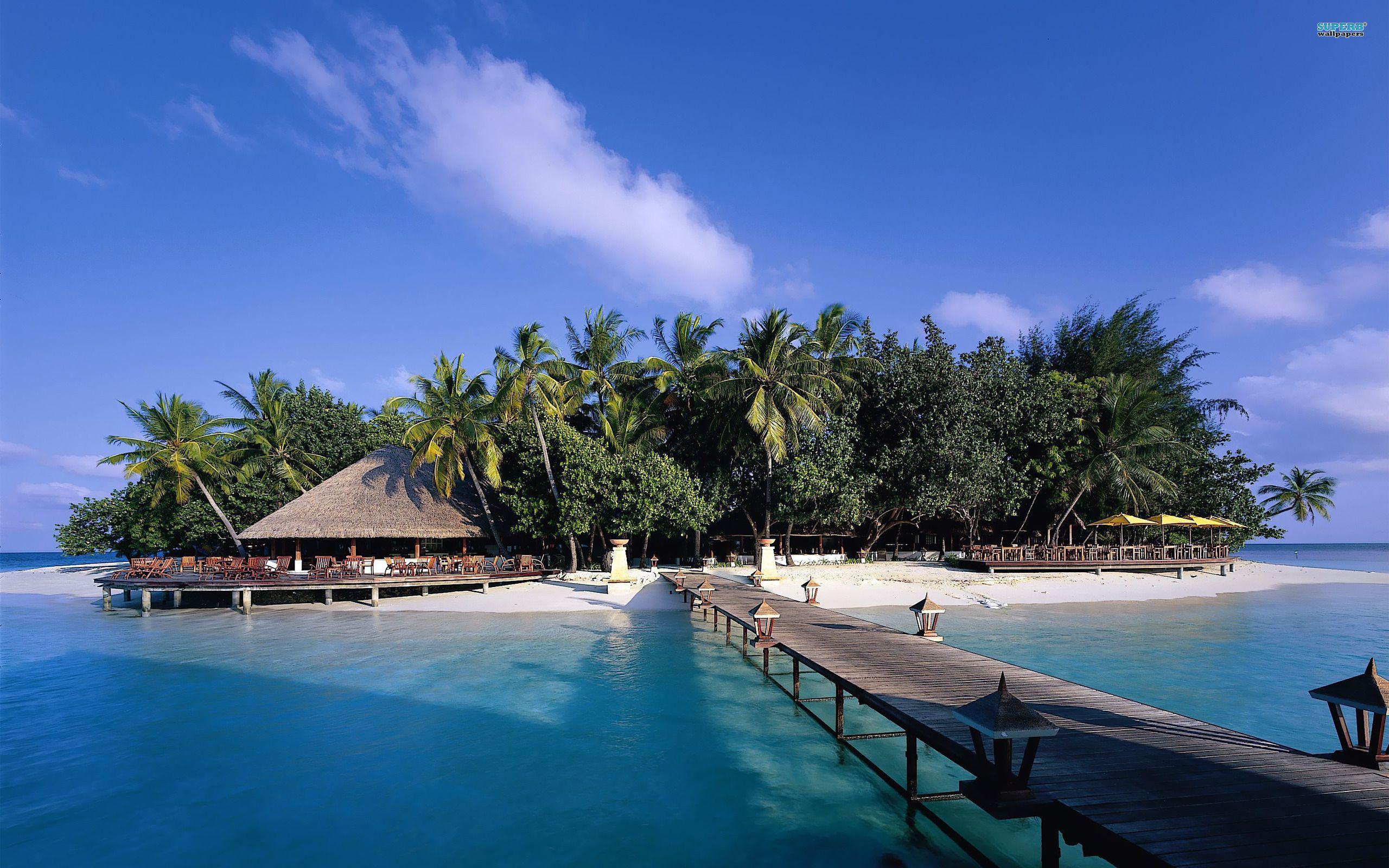 Maldives Beach 4K Wallpapers   Wide Screen Wallpaper 1080p ...