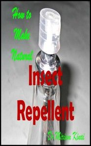 How to Make Natural Insect Repellents