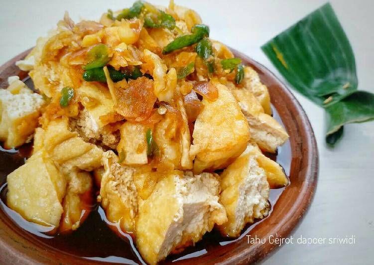 Resep Tahu Gejrot Oleh Dapoer Sriwidi Resep Makanan Resep Tahu Resep Masakan Indonesia