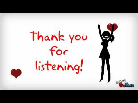 Thank You From Bottom Of My Heart Thank You For Listening Thank You Listening