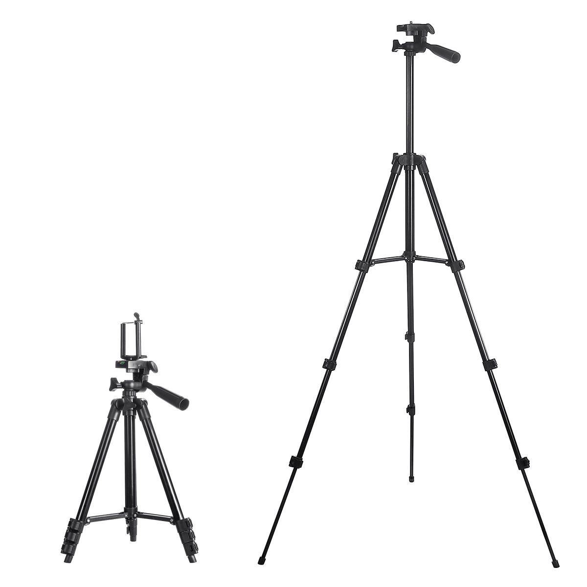 Insma 4 Sections Tripod Camera Stand Phone Holder Stand