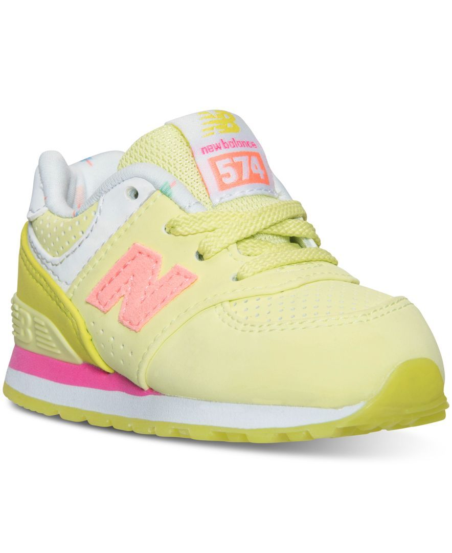 new balance girls' 574 casual sneakers